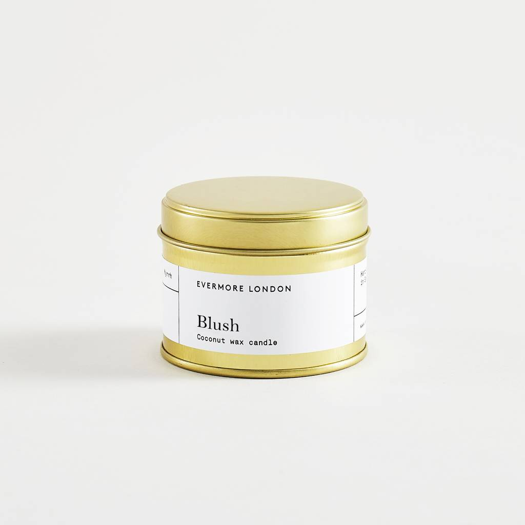 Evermore Blush Travel Candle
