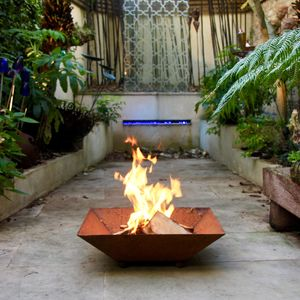 Square Firepit - fire pits & outdoor heating