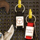 Personalised Car Seat Belt Keyring