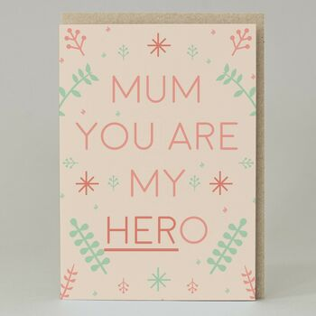 'Hero' Mum Card