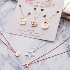 My Charm Story Triple Necklace Set - necklaces & pendants