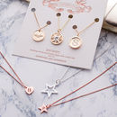 My Charm Story Triple Necklace Set