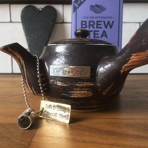 I'm Brewing A Bump Tea Set - teas, coffees & infusions