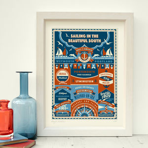 Sailing 'Sailing Prints' - limited edition art