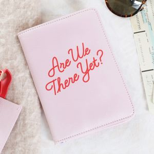 'Are We There Yet?' Passport Cover