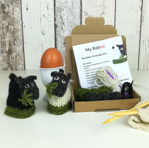 Sheep Egg Cosy Mini Knitting Kit