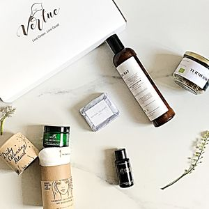 Eco Luxury Natural Beauty Cleanse Gift Set - bath & body sets