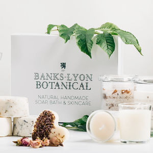Create Your Own Personalised Botanicals Pamper Gift Box - 30th birthday gifts