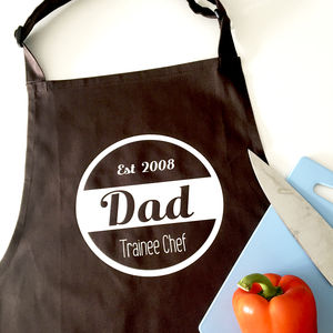 Personalised Retro Apron