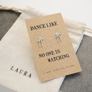 Dancing Man Earrings - earrings