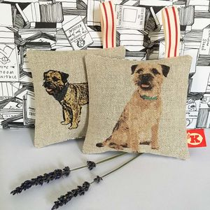 Border Terrier Lavender Bag