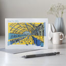 Kings Cross Station London Greetings Card