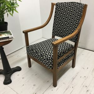 Stylish, Compact, Statement 1930's English Chair - furniture