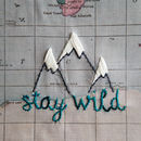Stay Wild World Map Travel Map