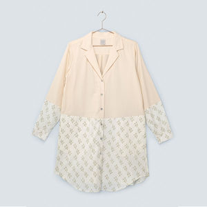 Dusk Organic Cotton Pyjama Shirt - the morning of the big day