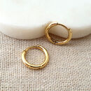 Simple Small Gold Hoop Earrings