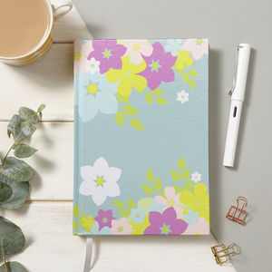Blossom Fabric Notebook