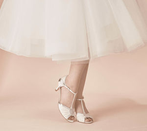 Matilda T Bar Wedding Shoes - clothing