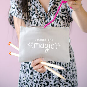 Maker Of Magic Project Pouch