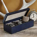 Personalised Three Watch Box Classic
