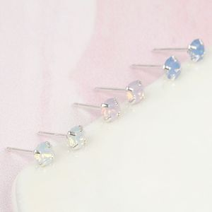 Swarovski Crystal Stud Earrings - earrings