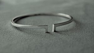 Two Bar Silver Bangle - bracelets & bangles