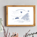 Favourite Memories Bespoke Love Note Print, Unframed