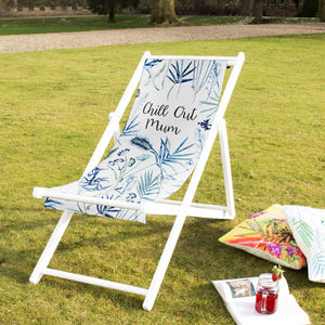 Mum's Tropical Deckchair Gardening Gift - mum loves gardening
