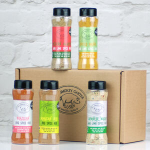 World Flavours Rub And Seasoning Gift Set