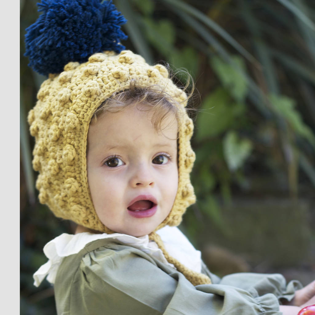 baby and child mustard pixie hat by viv   joe  fae51ec6a1c