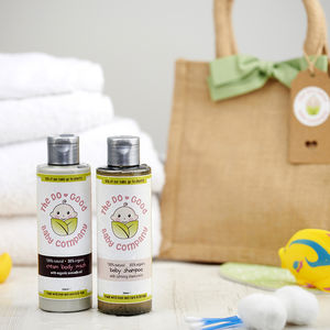 Organic And All Natural Baby Skincare Gift Set - bath & body