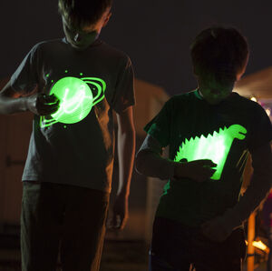 Solar Glow In The Dark Interactive Sweatshirt