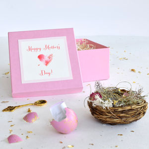 Mother's Day Personalised Quail's Egg Secret Message - mother's day cards