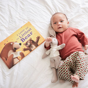 A Letter For The Littlest Bear Personalised Book - gifts for babies