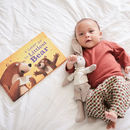 Personalised Baby Book: A Letter For The Littlest Bear