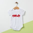 Personalised Car Baby Grow