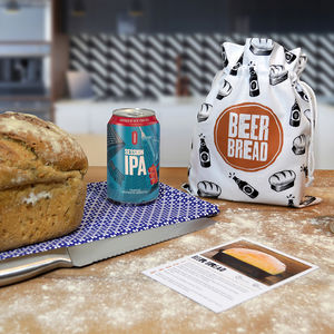 Beer Bread Kit With 330ml Craft Beer - gifts for him