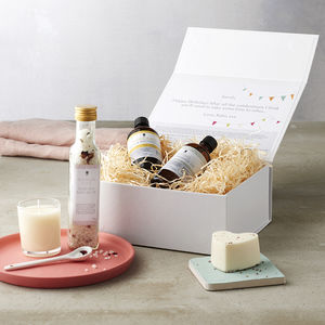 Create Your Own Birthday Personalised Organic Gift Box - 70th birthday gifts