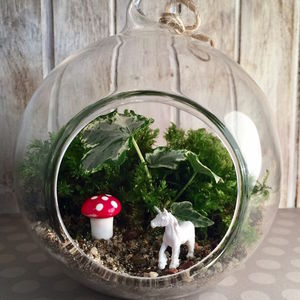 Unicorn Diy Terrarium Kit