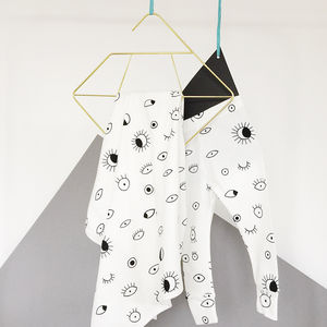 Eye Spy Baby Blanket And Leggings Gift Set - clothing