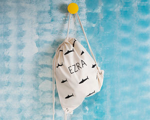 Personalised Shark Swim Bag