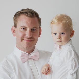 Father And Son Bow Tie Set