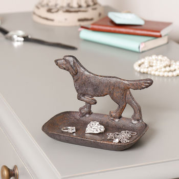 Game Dog Highland Trinket Tray