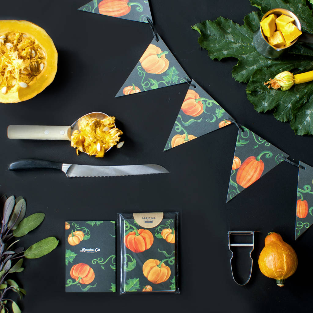 Halloween Pumpkin Party Bunting