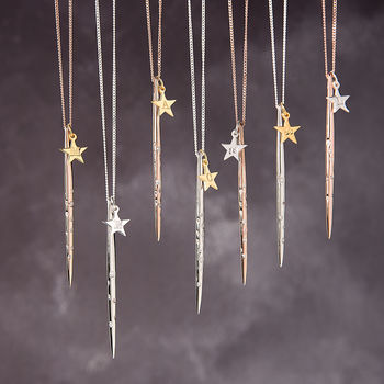 Constellation Zodiac Necklace With Star Charm