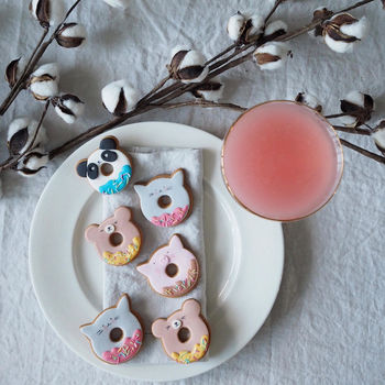 Animal Doughnut Biscuits
