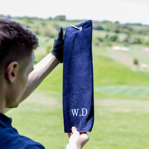 Personalised Golf Towel - secret santa gifts