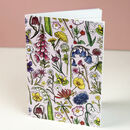 Wildflowers Of Britain Jotter Notebook