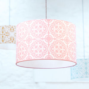 Moroccan Lampshade In Pink - lighting