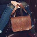 Heidi Two Souffles Leather Handbag